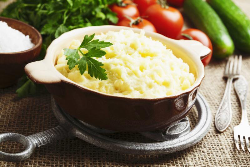 вкусное картофельное пюре