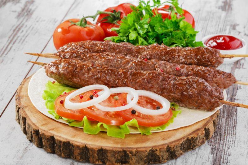 вкусный люля кебаб из говядины