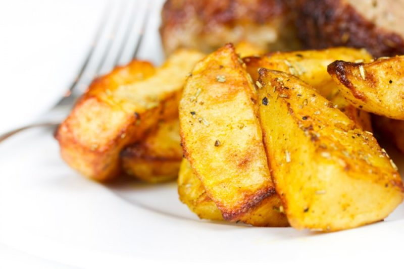 жареный картофель рецепт
