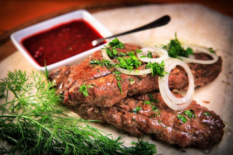 как готовить люля кебаб в духовке