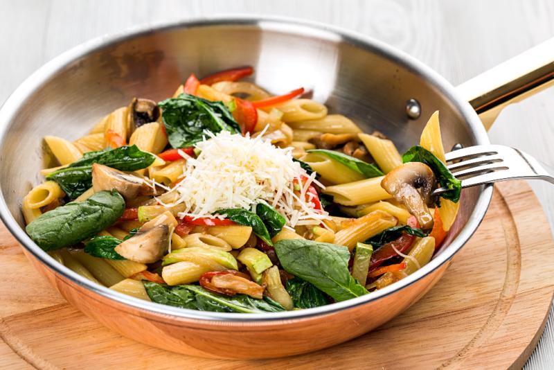 как готовить пасту с овощами