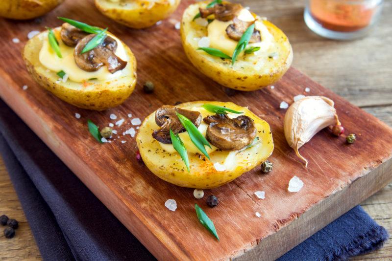как готовить печеный картофель