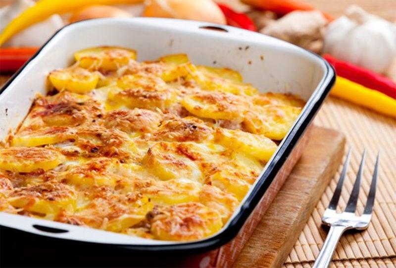 как приготовить картофель гратен