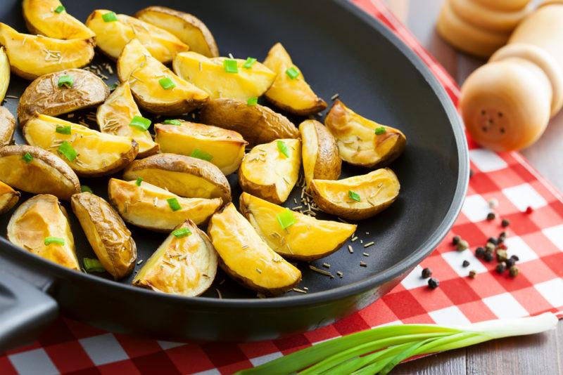 как приготовить картофель по селянски