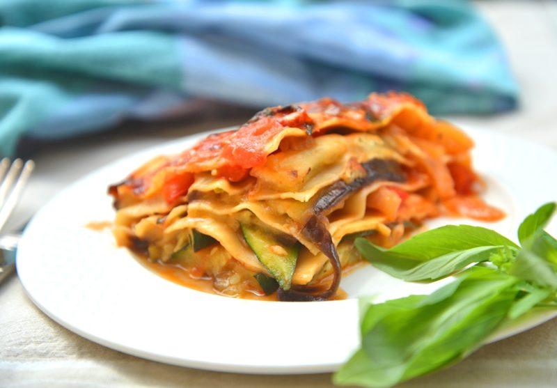как приготовить овощную лазанью