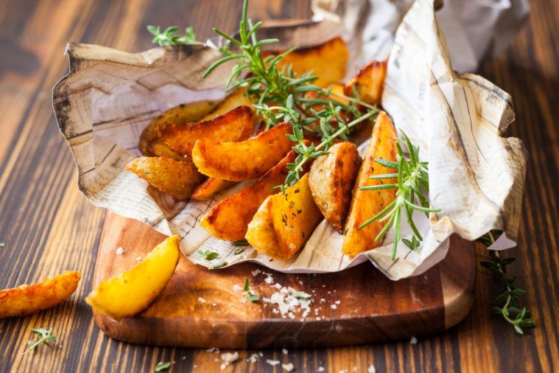 как сделать жареный картофель