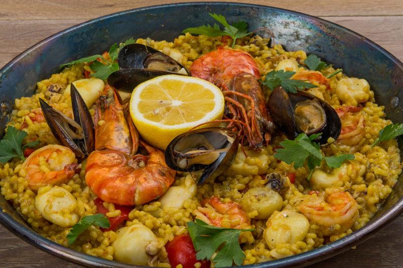 как сделать паэлью с морепродуктами