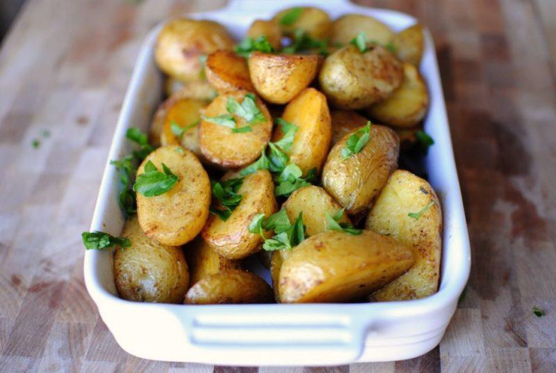 как сделать печеный картофель