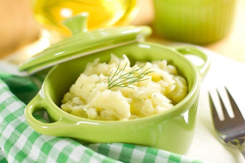 картофельное пюре рецепт приготовления