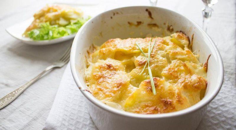 картофель гратен
