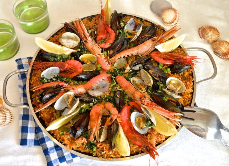 лучшая паэлья с морепродуктами