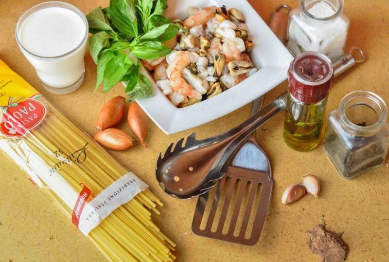 паста с морепродуктами рецепты