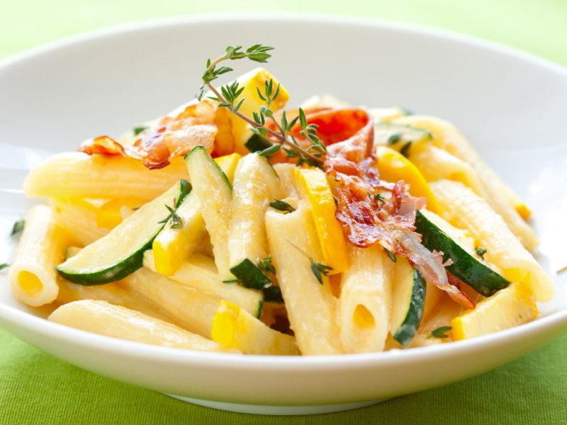 паста с овощами рецепт