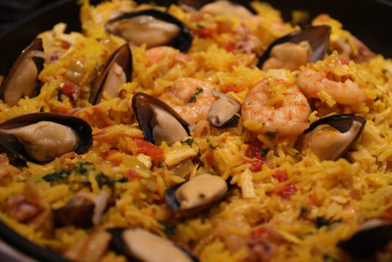 паэлья с морепродуктами рецепт приготовления