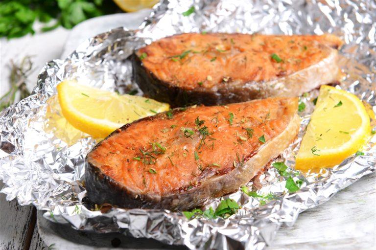 Рыба запеченная – прекрасная альтернатива жареной рыбе.