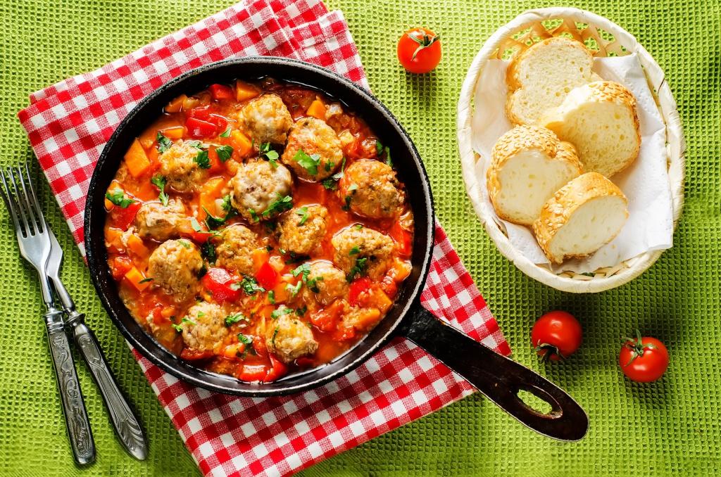 Рецепты с картинками на обед
